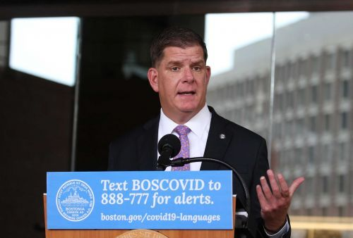 Mayor Walsh gives briefing on Boston response to COVID-19