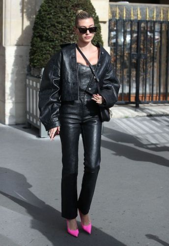 Yes, Hailey Bieber Is at Paris Fashion Week, and Yes, Her Street Style Is Impeccable