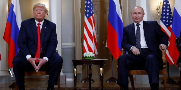 Trump declares Putin summit a 'great success' and says the 'real enemy' is the 'Fake News Media'