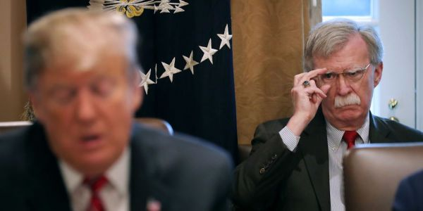 Trump's impeachment team is so worried that John Bolton could sink his defense that they've drawn up plans to make him testify behind closed doors