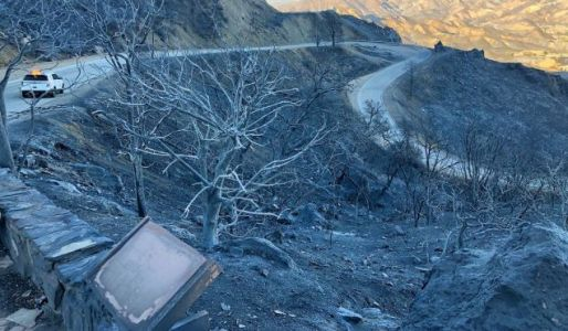 California's Fires Have Burned Mulholland Highway Almost Beyond Recognition