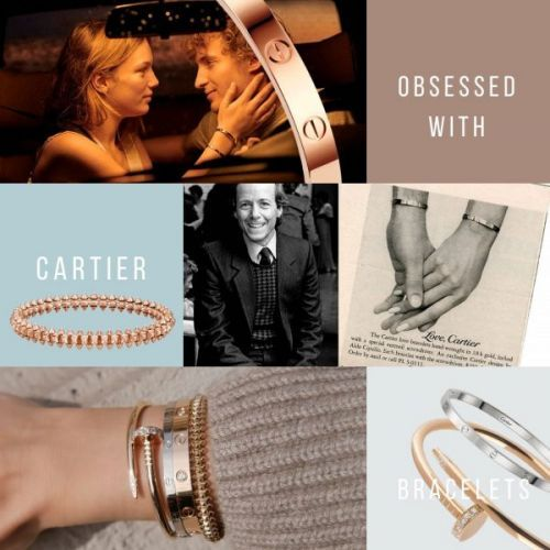 Obsessed with Cartier Bracelets