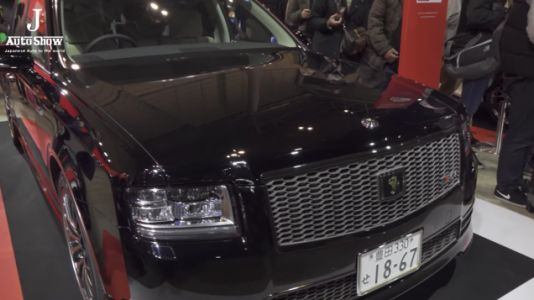 Another Mysteriously Awesome Toyota Century GRMN Just Debuted In Black
