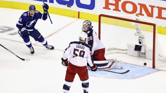 By the numbers: Lightning defeat Blue Jackets in 5-OT NHL playoff thriller