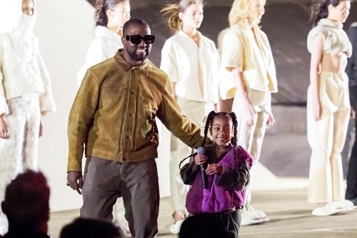 North West raps in video of Kanye's show at Paris fashion week