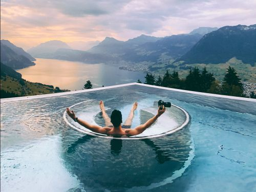 A 5-star boutique hotel in Switzerland with a world-famous infinity pool no longer has to pay for advertising, thanks to Instagram
