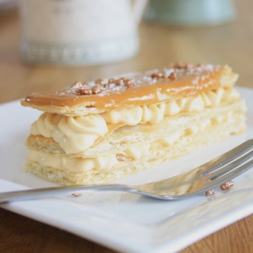 Salted Caramel Mille Feuille