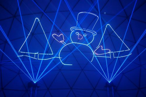 Holiday Laser Dome coming to Waterfront Park