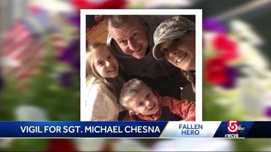 Slain officer, local woman remembered during vigil