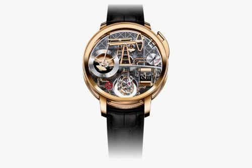 """The Jacob & Co. """"Oil Pump"""" Watch Features a Working Oil Reservoir"""