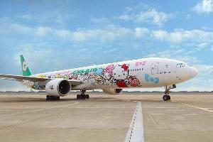 EVA Air Hello Kitty Jet introduced into its San Francisco schedule