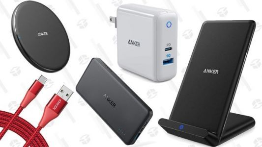 Amazon's Discounting a Bunch of Anker Charging Gear, For One Day Only