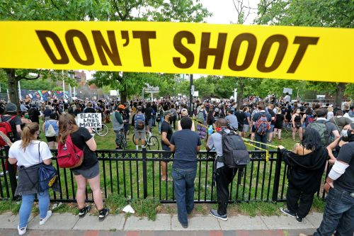 Minneapolis George Floyd police killing protested in Boston