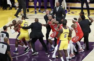 NBA suspends Ingram, Rondo, Paul in Lakers-Rockets dustup