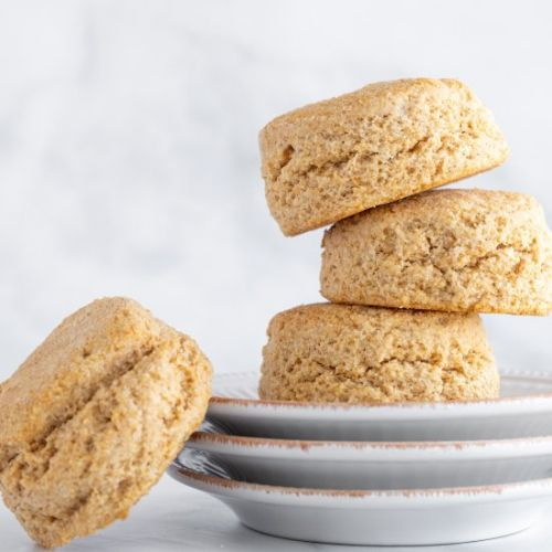 100% whole wheat buttermilk biscuits