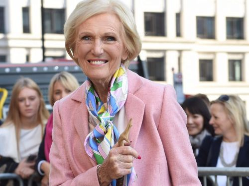 Mary Berry of 'The Great British Bake Off' was once arrested for bringing bags of flour and sugar to the airport