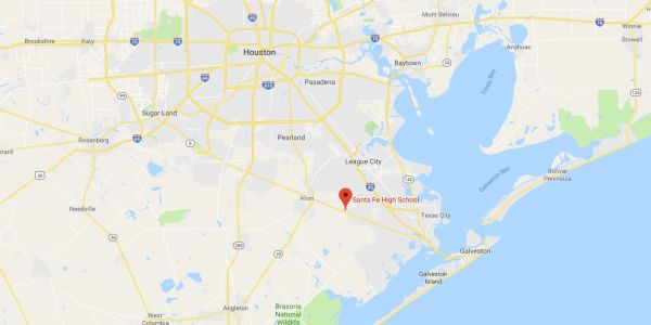 Active shooter reported at high school in Santa Fe, Texas