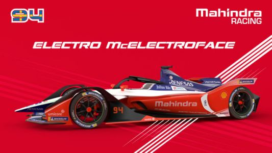 """Formula E's Mahindra Racing Team Is Actually Naming One of Their Cars """"Electro McElectroface"""""""