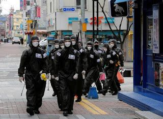 Once the biggest outbreak outside of China, South Korean city reports zero new coronavirus cases