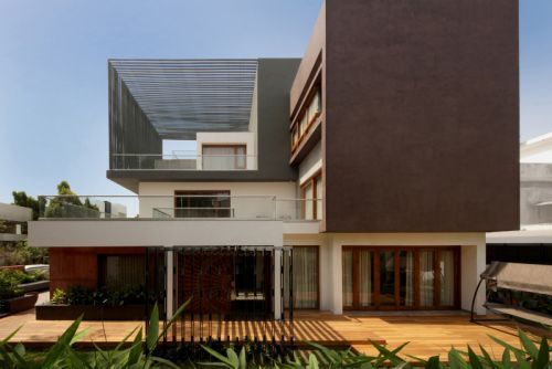 The Cube House Mixes Modern Aspirations With Traditional Values