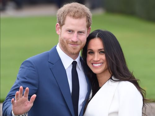The royal family has been spotted at Meghan Markle and Prince Harry's wedding venue - and rehearsals are underway