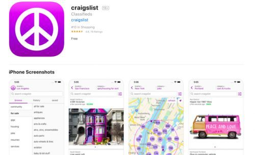 If The New Craigslist App Had Come Any Sooner My Life Would Be In Shambles