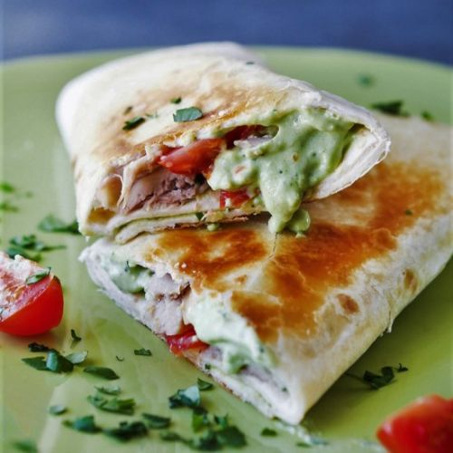 Avocado Chicken Ranch Wrap