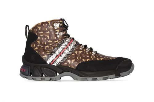Burberry's Monogram Hiking Boots Mix Elegance With the Outdoors
