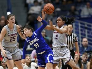 Samuelson leads No. 1 UConn to 99-61 rout of Seton Hall