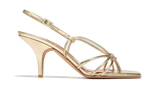 Dhani Wants to Wear These Gold Heels to Every Fancy Event for the Foreseeable Future