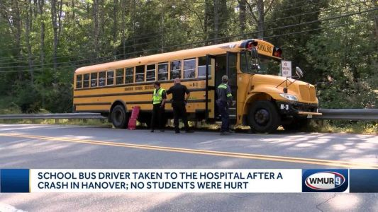 Students OK after 2 separate school bus crashes in Hanover