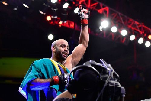 UFC on ESPN 20's Warlley Alves vows to reach potential, become champion