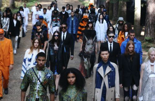Riccardo Tisci Stages a Runway Performance in the Woods for Burberry's Spring 2021 Collection
