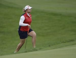 Park, Salas share LPGA Tour lead in rainy Indy