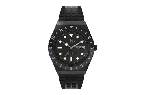 Q Timex Brings Back Its Classic 38mm Stainless Steel Bracelet Watch