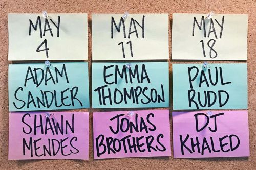 'Saturday Night Live' reveals final hosts, musical guests of season