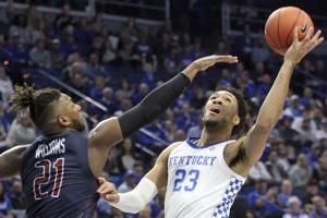 No. 8 Kentucky rolls FDU, earns 600th win at Rupp Arena