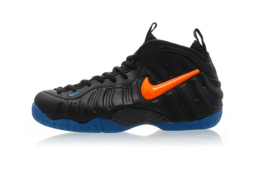 Nike Drops the Air Foamposite Pro in Knicks-Themed Colors