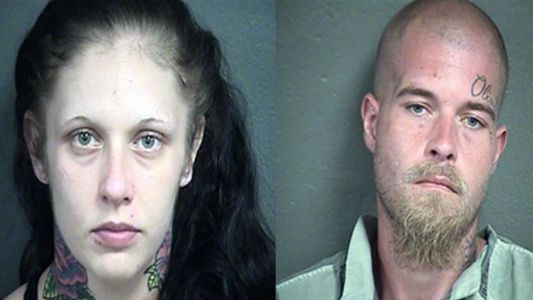 Father, woman booked into jail after police say they believe they've found body of Olivia Jansen