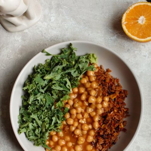 Vegan Orange Chickpeas Recipe