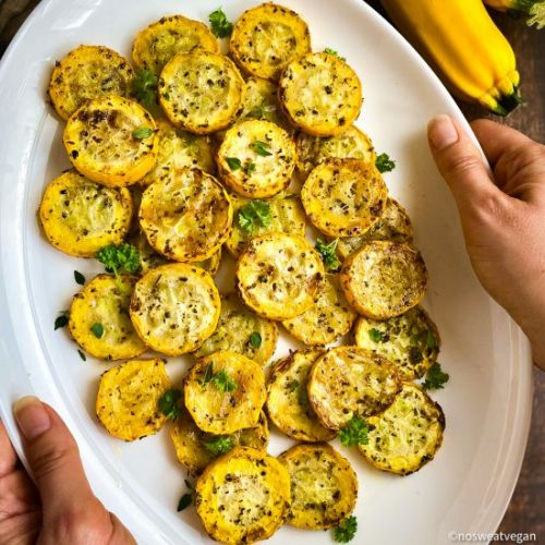 Air Fryer Yellow Squash