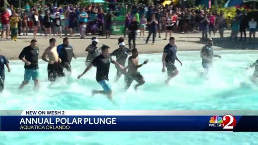 Aquatica raises money for Special Olympics with Polar Plunge