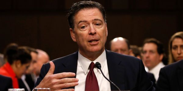 James Comey conducted FBI business using his personal Gmail account during the Clinton email investigation