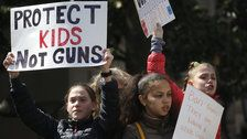 Students From 2,600 Schools Plan Walk Outs To Protest Gun Violence