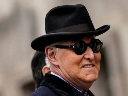 7 times Roger Stone has looked like a perfect Bond villain