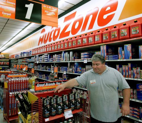 AutoZone slides after sales miss