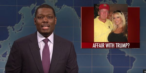 'SNL' takes on Trump's Stormy Daniels scandal and his '100% accurate health assessment'
