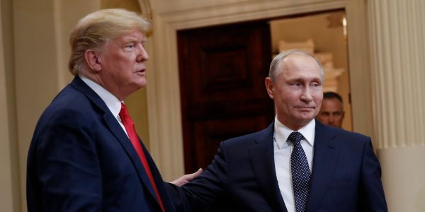 Kremlin says it's 'stupid' to say Trump is a Russian agent amid reports he tried to hide Putin conversations