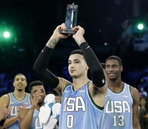 Kuzma wins MVP, US tops World in Rising Stars 161-144