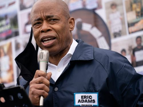 A volunteer for NYC mayoral candidate Eric Adams was stabbed while out canvassing in the Bronx